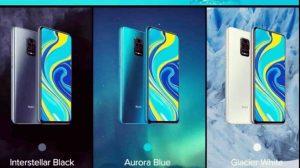 Redmi Note 9 Pro Max all colour varient